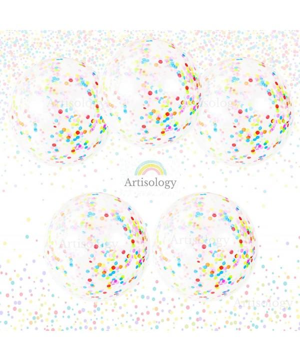 Birthday Confetti Balloons Artisology celebration