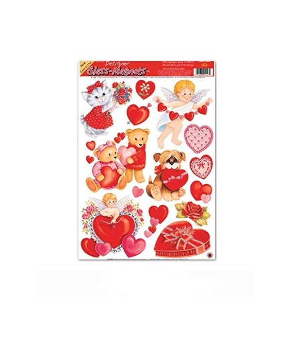 Valentine Clings Party Accessory Count