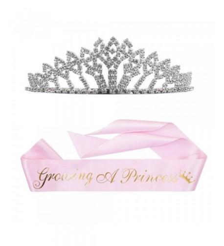 Growing Princess Sash Rhinestone Tiara