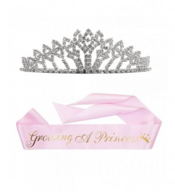 Growing Princess Sash Rhinestone Tiara