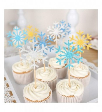HansGo Glitter Snowflake Decoration Birthday