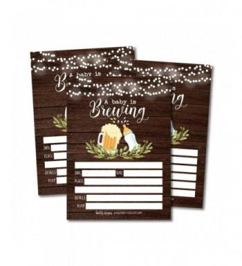Brewing Invitations Sprinkle Printable Supplies