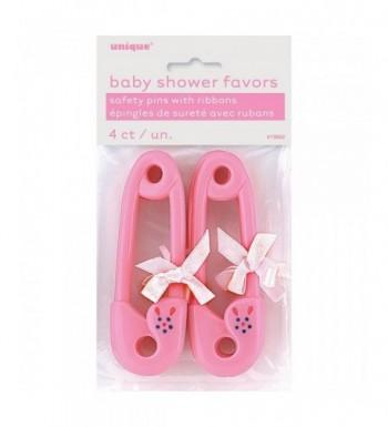 Pink Diaper Ribbon Shower Favors