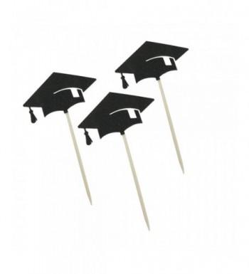 Ecago Graduation Cupcake Toppers Appetizer