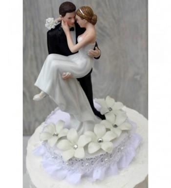Stephanotis Groom Holding Wedding Topper