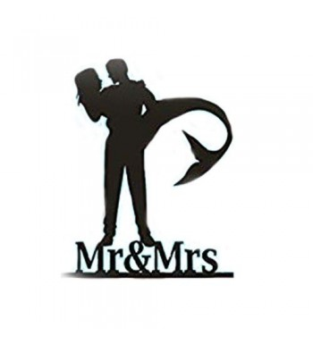Personalized Wedding Cake Topper silhouette