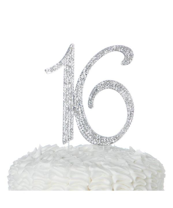 Ella Celebration Birthday Decoration Rhinestone