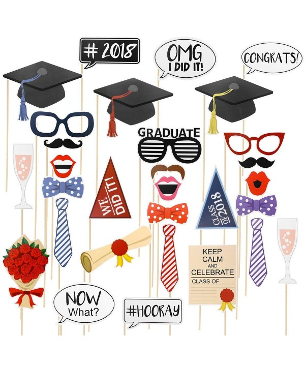 LUOEM Graduation Photo Booth Props