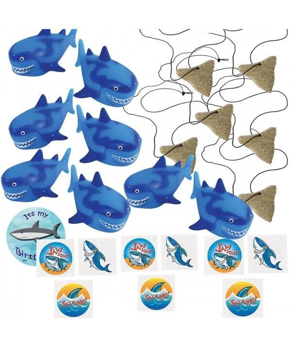Shark Party Favors 12 Necklaces