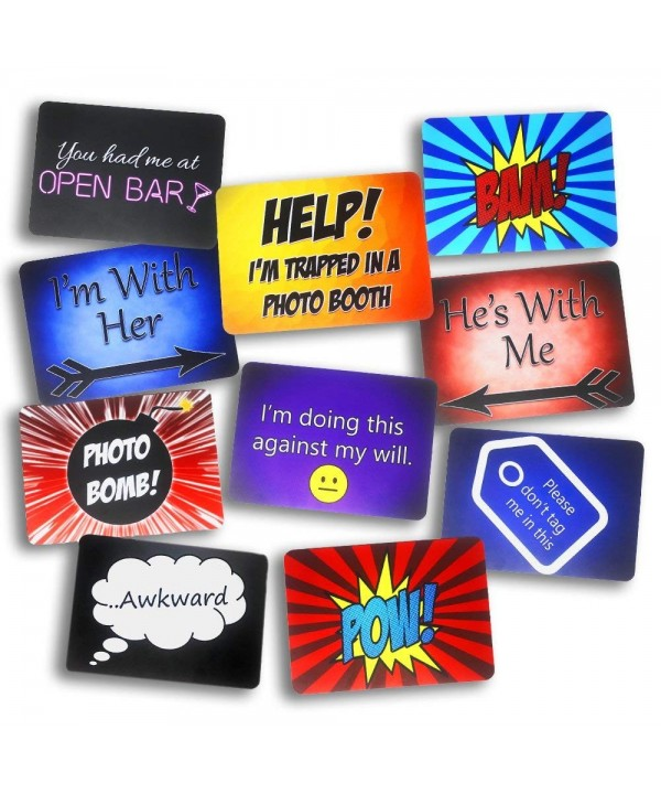 Solid Plastic Signs Propsicles double Phrases