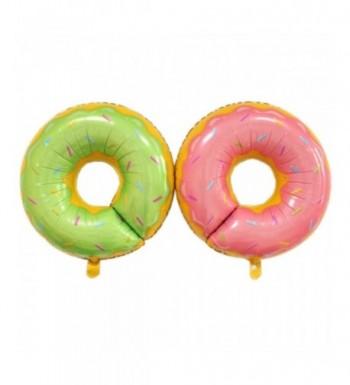 AnnoDeel Doughnut Balloons Birthday Decorations