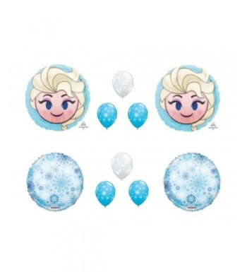 Snowflakes BIRTHDAY Balloons Decorations Supplies