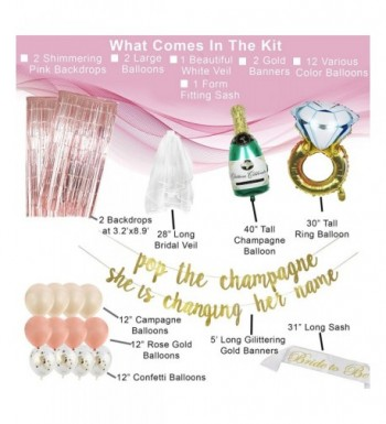 Fashion Bridal Shower Party Decorations On Sale