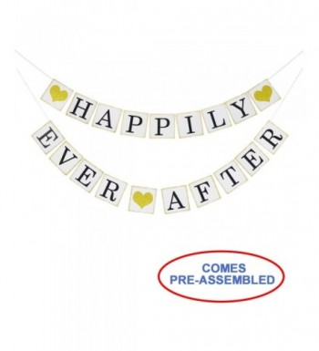 Happily Glitter Wedding Engagement Decorations