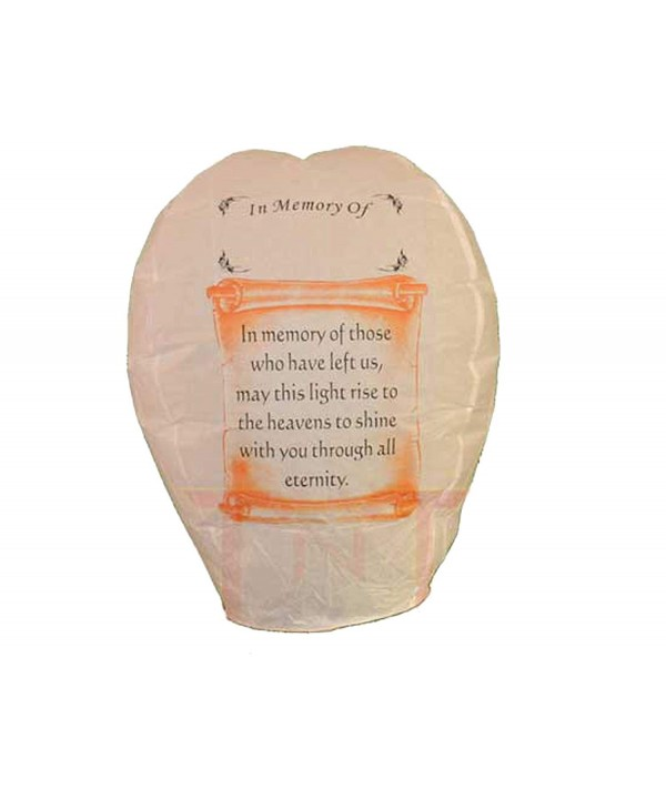 Lantern Memory Seller Biodegradable Assembled