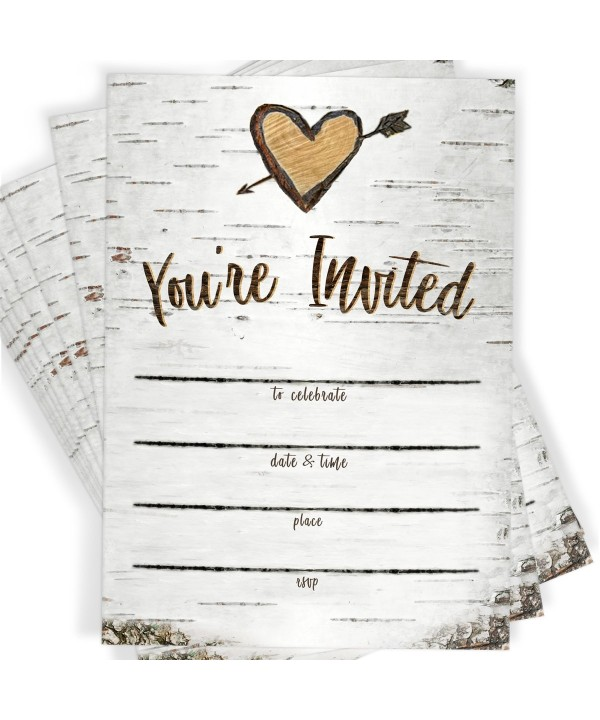 Party Invitations Envelopes Country Occasions