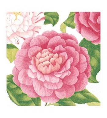 Dessert Napkins Shower Bridal Camellias