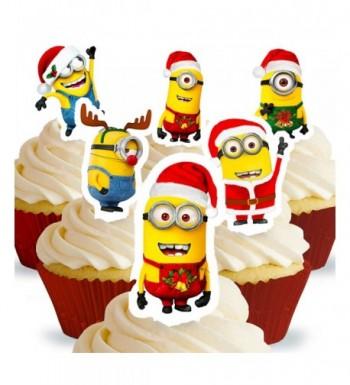 Cakeshop PRE CUT Despicable Minions Christmas