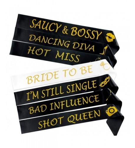 Bachelorette Sashes Bridesmaid Wedding Supplies