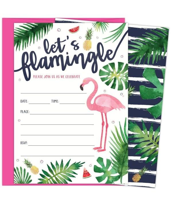 Flamingle Invitations Envelopes Birthdays Graduations