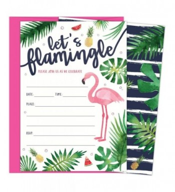 Flamingle Invitations Envelopes Birthdays Graduations