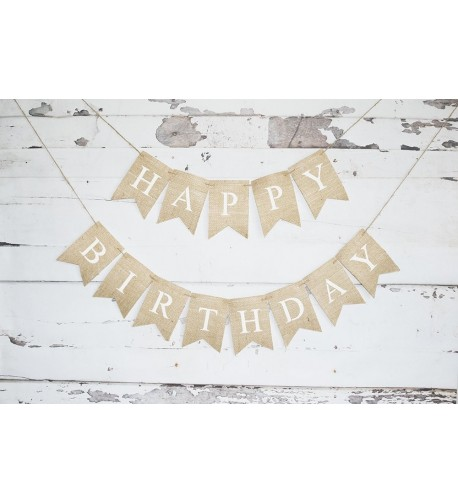 Happy Birthday Banner Decoration Party