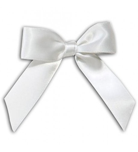 White Bow Tassel Decorations Decorating