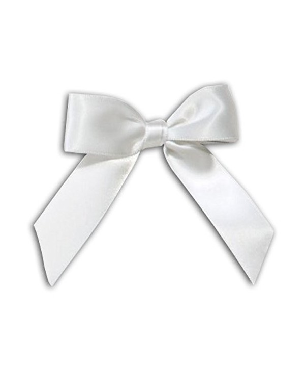 White Bow Tassel Decorations Decorating