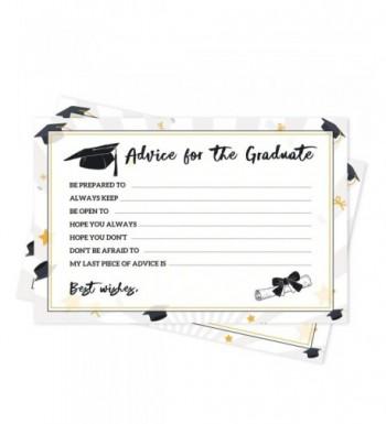 Graduation Party Advice Cards Decorations