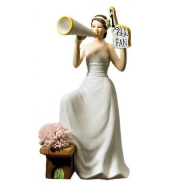 Weddingstar Fan Cheering Bride Figurine