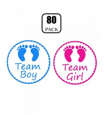Gender Reveal Stickers PojoTech Decorations