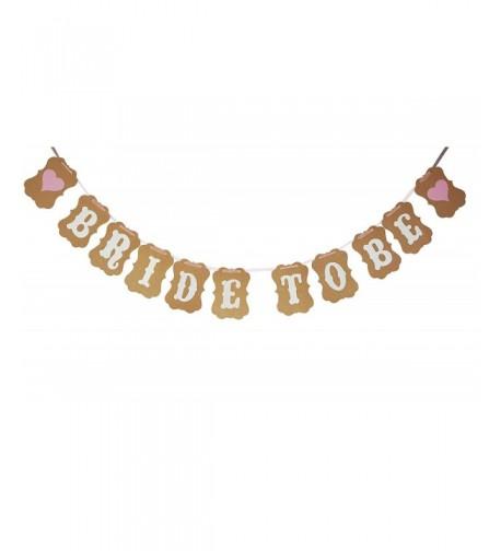Intoy Bride Bachelorette Banner Glitter