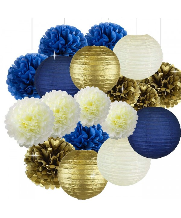 10inch Flowers Honeycomb Lanterns Decoration