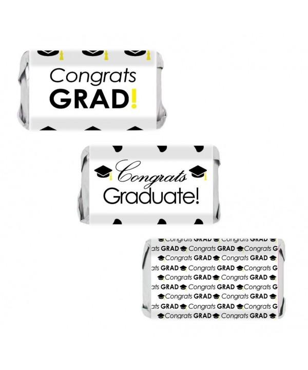 Congrats Miniatures Wrapper Stickers Graduation