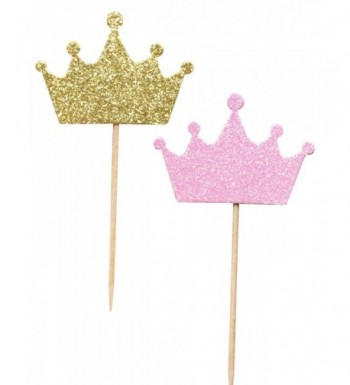 36 Pack Princess Birthday Decorations Supplies