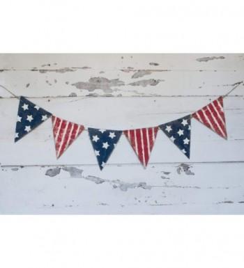 Swanky Party Box Stripes Patriotic