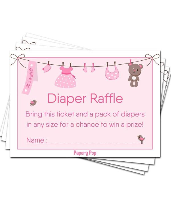 Diaper Raffle Tickets Baby Shower