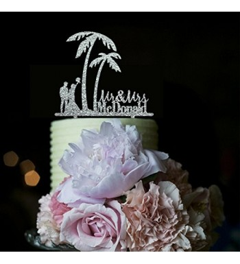 Beach Wedding Toppers Romantic Personalized