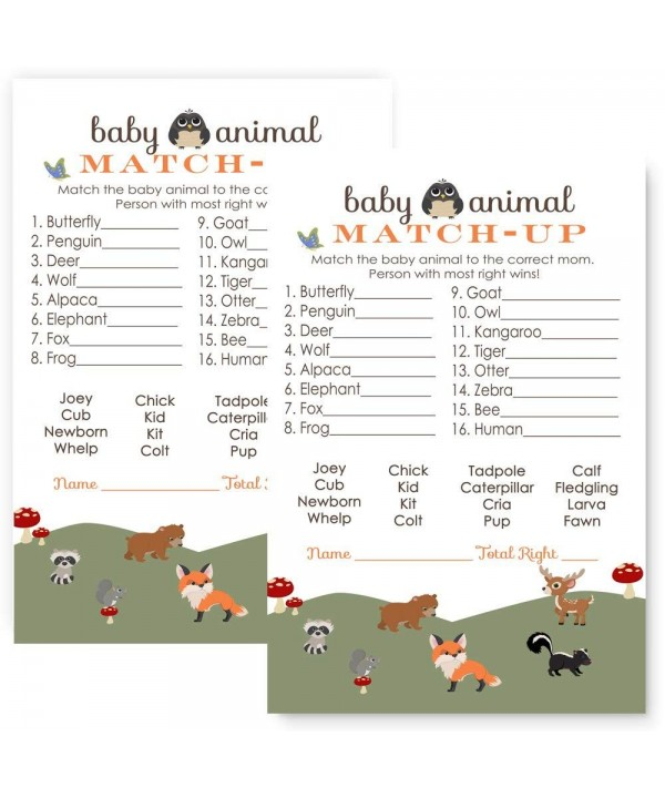 Paper Clever Party Woodland Animal