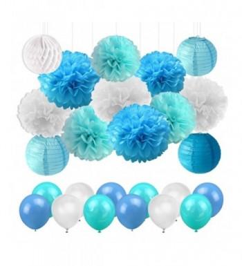 Shower Decorations Lanterns Balloons Birthday