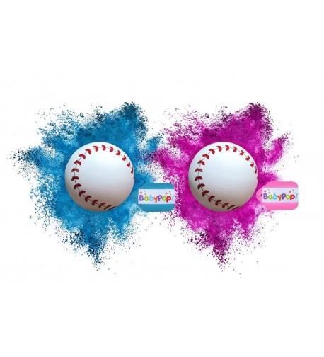BabyPop Gender Baseballs Exploding Supplies