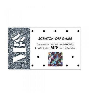 Mr Mrs Silver Wedding Scratch