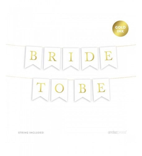 Andaz Press Wedding Hanging Metallic