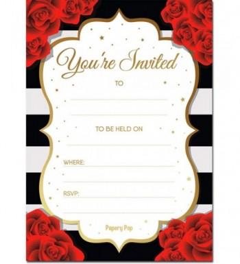 30 Invitations Envelopes Bachelorette Birthday