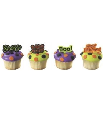Halloween Greetings Decopics Designer Cupcake
