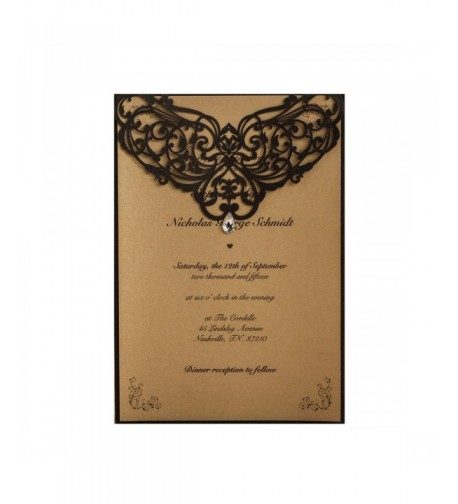 Printable Invitations Rhinestone Engagement Quinceanera