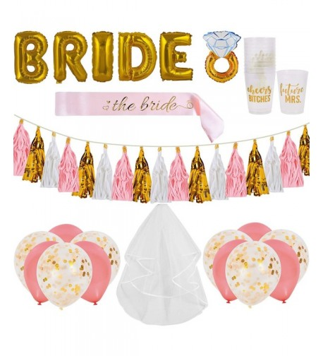 Bachelorette Decorations Supplies Balloons Confetti
