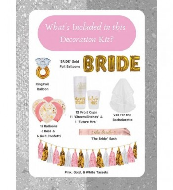 Cheap Real Bridal Shower Party Decorations