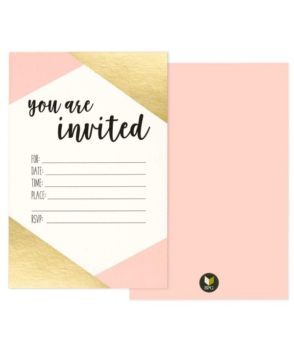 Pack Invited Minimalist Party Invitation