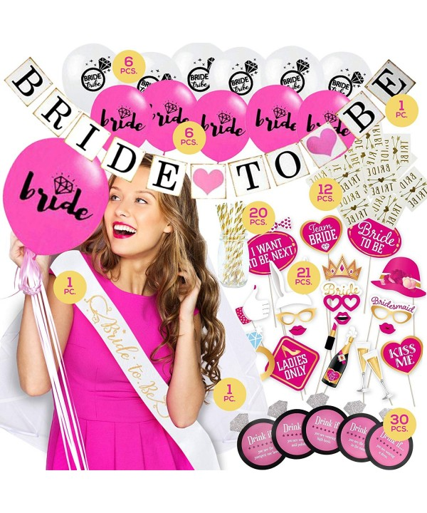 Bachelorette Decorations Balloons Drinking Accessories